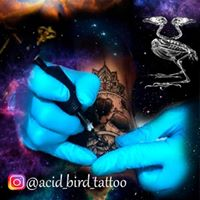 ACID BIRD TATTOO